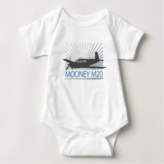 Body Para Bebê Aviação de Mooney M20