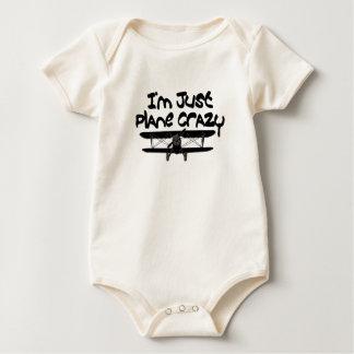 Body Para Bebê avião engraçado