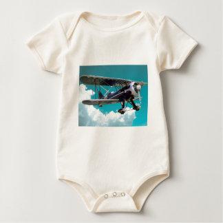Body Para Bebê Avião velho