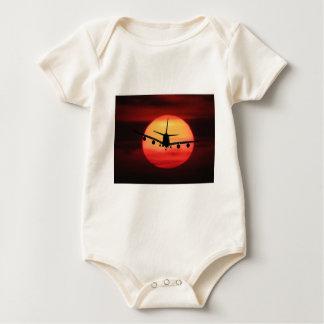 Body Para Bebê Aviões Sun