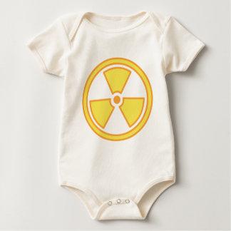 Body Para Bebê Aviso radioativo