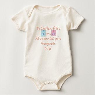 Body Para Bebê Avós a ser