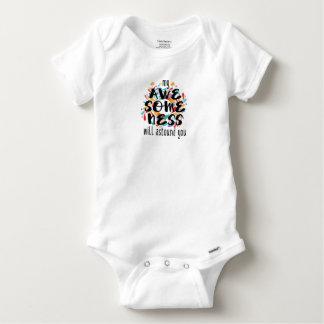 Body Para Bebê Awesomeness