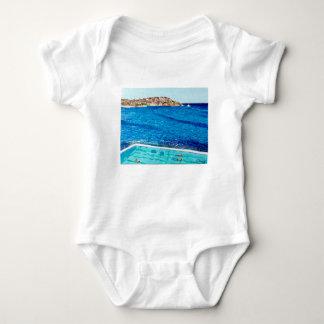 Body Para Bebê Azuis de Bondi