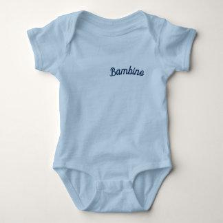"Body Para Bebê Azul do Bodysuit do bebê/do ""bebé"""
