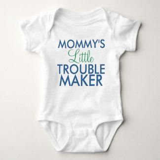 Body Para Bebê Azul do fabricante de problema da mamã pouco
