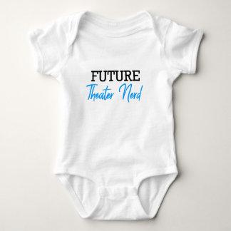 Body Para Bebê Azul futuro do nerd do teatro