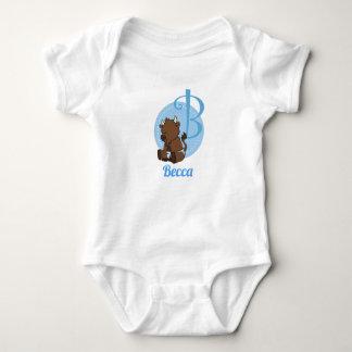 Body Para Bebê B customizável é para o bisonte