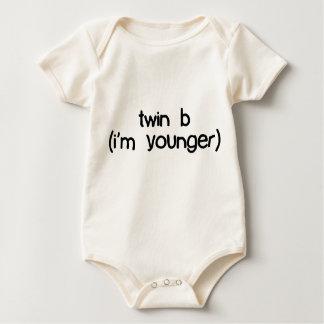 Body Para Bebê b gêmeo (eu sou mais novo)