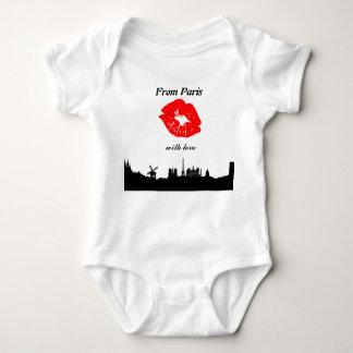 Body Para Bebê Baby onsie, From Paris