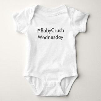 Body Para Bebê #BabyCrushWednesday