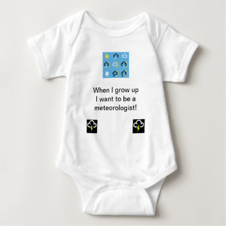 Body Para Bebê Babygrow dos símbolos de tempo