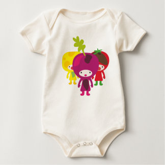 Body Para Bebê Babyshirt dos vegetarianos