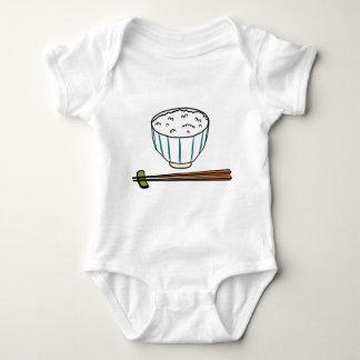 Body Para Bebê Bacia de arroz japonesa