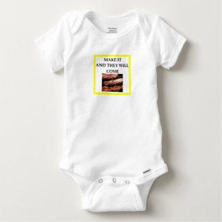 Body Para Bebê bacon