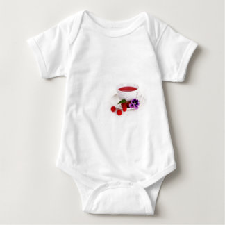 Body Para Bebê Bagas do Natal