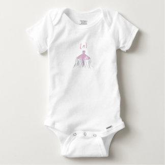 Body Para Bebê Bailarina das medusa - Annette
