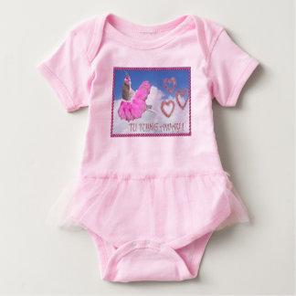 Body Para Bebê Bailarina do bebê