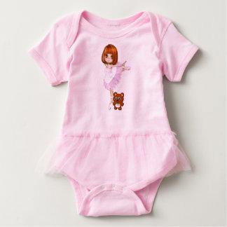 Body Para Bebê Bailarina e urso de ursinho