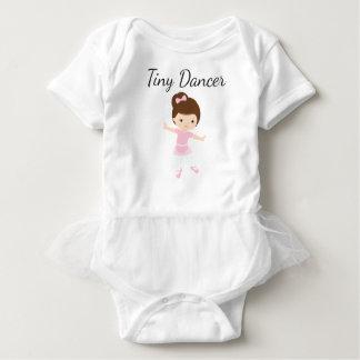 Body Para Bebê Bailarina minúscula do dançarino