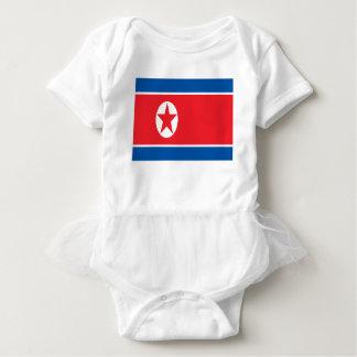 Body Para Bebê Baixo custo! Bandeira da Coreia do Norte