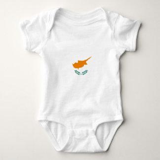 Body Para Bebê Baixo custo! Bandeira de Chipre