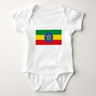 Body Para Bebê Baixo custo! Bandeira de Etiópia