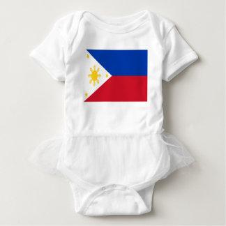 Body Para Bebê Baixo custo! Bandeira de Filipinas
