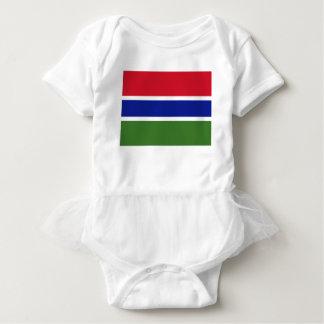 Body Para Bebê Baixo custo! Bandeira de Gambia