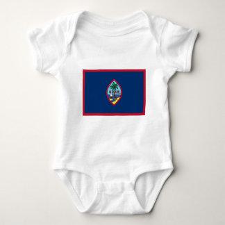 Body Para Bebê Baixo custo! Bandeira de Guam
