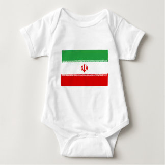 Body Para Bebê Baixo custo! Bandeira de Irã