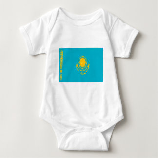 Body Para Bebê Baixo custo! Bandeira de Kazakhstan