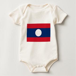 Body Para Bebê Baixo custo! Bandeira de Laos