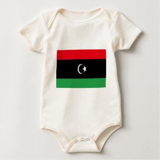 Body Para Bebê Baixo custo! Bandeira de Líbia