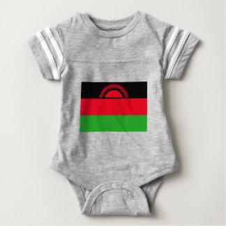 Body Para Bebê Baixo custo! Bandeira de Malawi