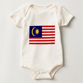 Body Para Bebê Baixo custo! Bandeira de Malaysia