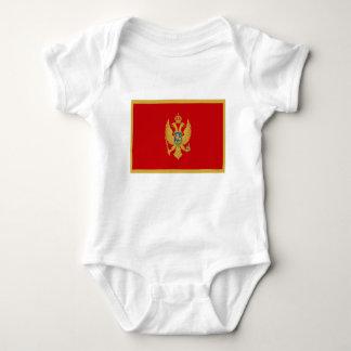 Body Para Bebê Baixo custo! Bandeira de Montenegro