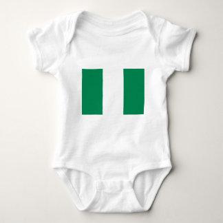 Body Para Bebê Baixo custo! Bandeira de Nigéria