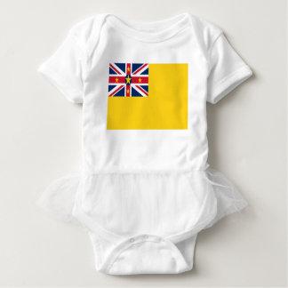 Body Para Bebê Baixo custo! Bandeira de Niue