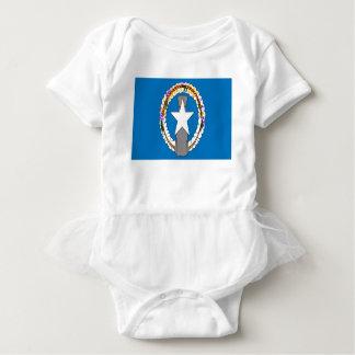 Body Para Bebê Baixo custo! Bandeira de Northern Mariana Islands