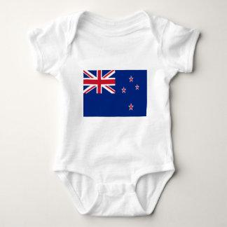 Body Para Bebê Baixo custo! Bandeira de Nova Zelândia