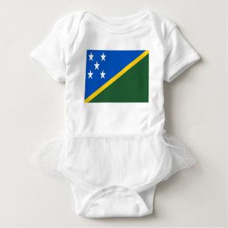 Body Para Bebê Baixo custo! Bandeira de Solomon Island