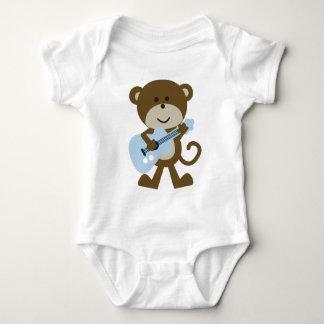Body Para Bebê Balancim/Rockstar do macaco