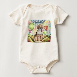 Body Para Bebê - balão quente do cabelo