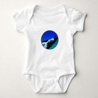 Body Para Bebê Baleia