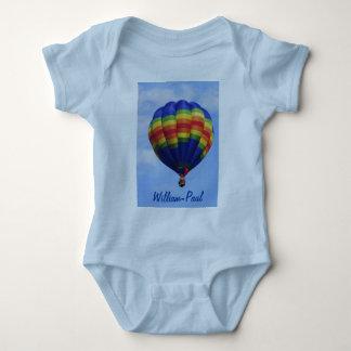 Body Para Bebê Ballooning do ar quente do arco-íris