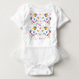 Body Para Bebê Balões