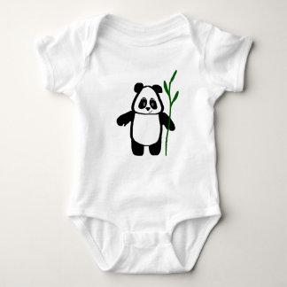 Body Para Bebê Bambu o Romper do Creeper do bebê da panda