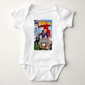 Body Para Bebê Banda desenhada do super-herói de Ron Paul