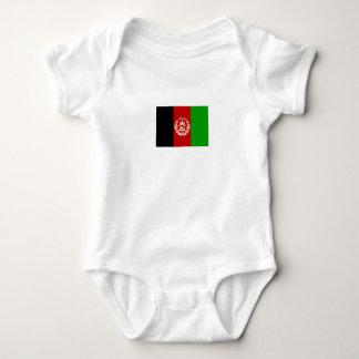 Body Para Bebê Bandeira afegã patriótica